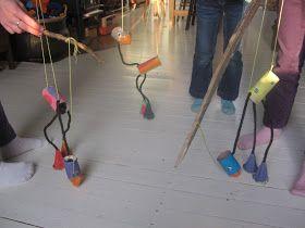 Verwonderland: DIY-Dinsdag: Vogel-marionet