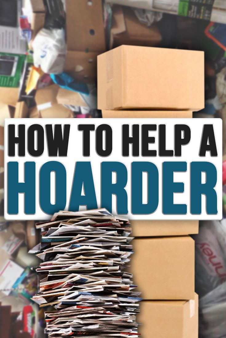 how to help a hoarder | let's get organized! | declutter