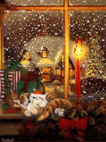 Hermosos paisajes: Bonitas imágenes navideñas   navidad   Pinterest ...