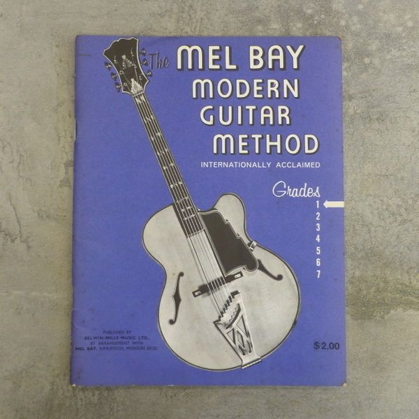 Vintage the mel bay modern guitar method internationally vintage the mel bay modern guitar method internationally acclaimed grade 1 published fandeluxe Image collections