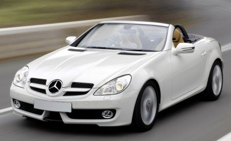 mini road test mercedes benz slk 200 kompressor 2look. Black Bedroom Furniture Sets. Home Design Ideas
