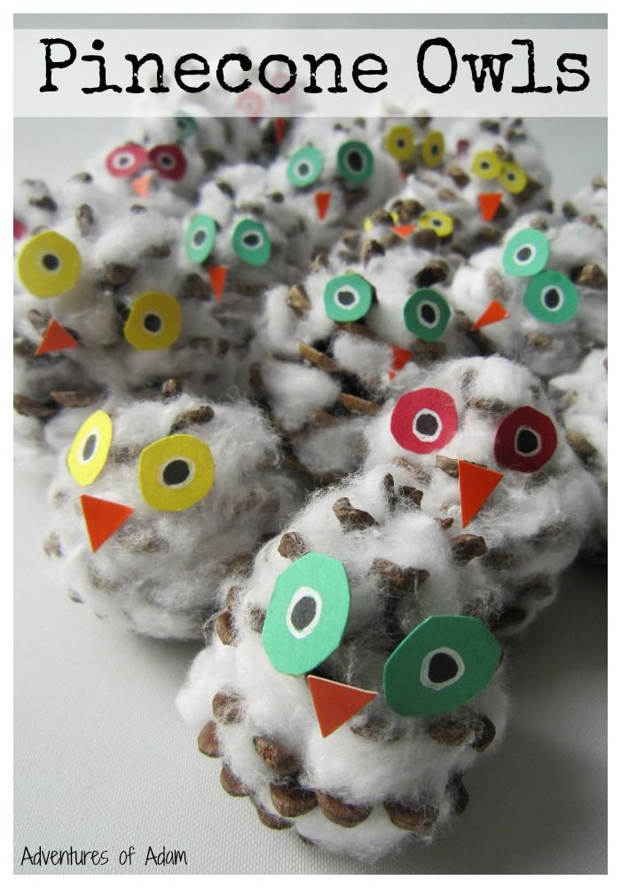 Pinecone Owls And 30 Christmas Ornaments Christmas Pinterest