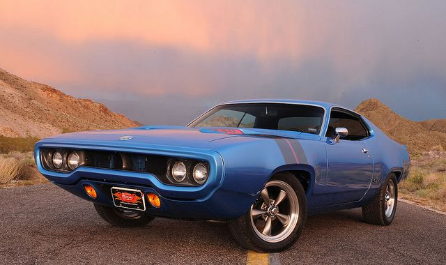 '72 Plymouth GTX 440. Awesome American Musclecar!