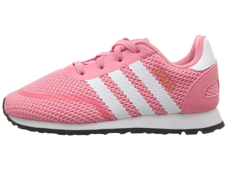 Adidas Originals Kids N 5923 CLS I (Toddler) Chicas zapatos Chalk Pink