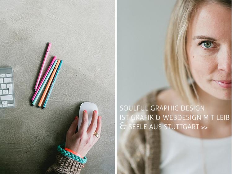 Mein Name ist Nicola Kühn und ich bin mit SOULFUL GRAPHIC DESIGN unterwegs in Sachen Corporate Design für kleine Unternehmen, Gründer und Solopreneure. Du darfst mich gerne kontaktieren! www.nicolakuehn.de