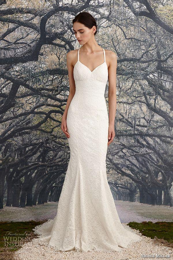 Nicole Miller Bridal Spring 2016 Wedding Dresses Nicole