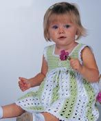 Free crochet dress