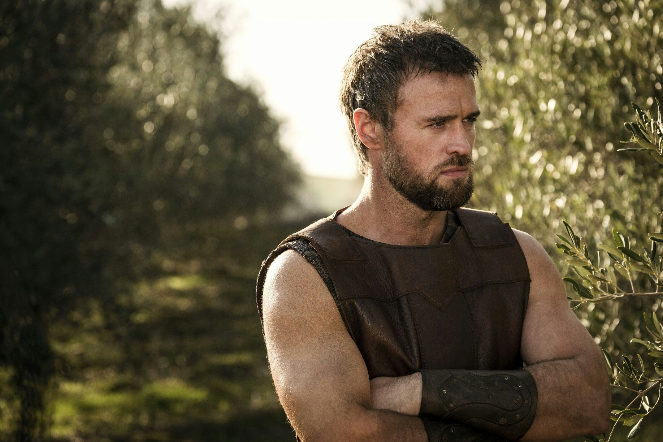 Jonas Armstrong in Troy: The Fall of a City | Jonas ...