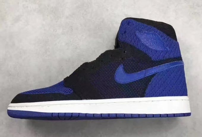 The 'Royal' Air Jordan 1 Retro Flyknit will release on October 7, 2017