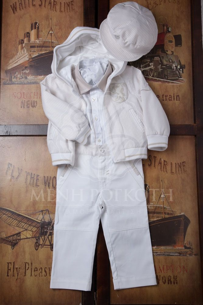 6ee18f495ba Βαπτιστικά ρούχα για αγόρι της Lapin House | Baptism clothes ...