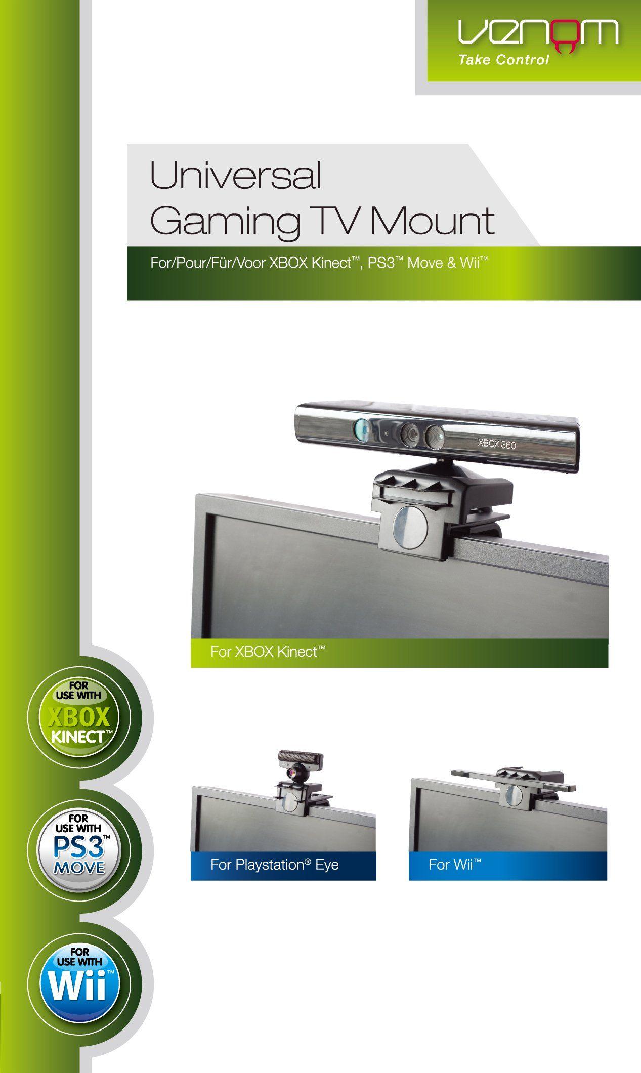 Universal Gaming TV Mount (Xbox 360/PS3/Wii): Amazon co uk