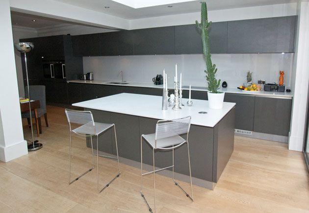 Best Kitchen Island In Dark Matt Anthracite The Rich Tone Of 640 x 480