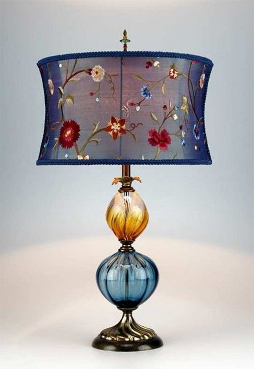 Eclectic And Beautiful Artistic Table Lamp Beautiful Lamp