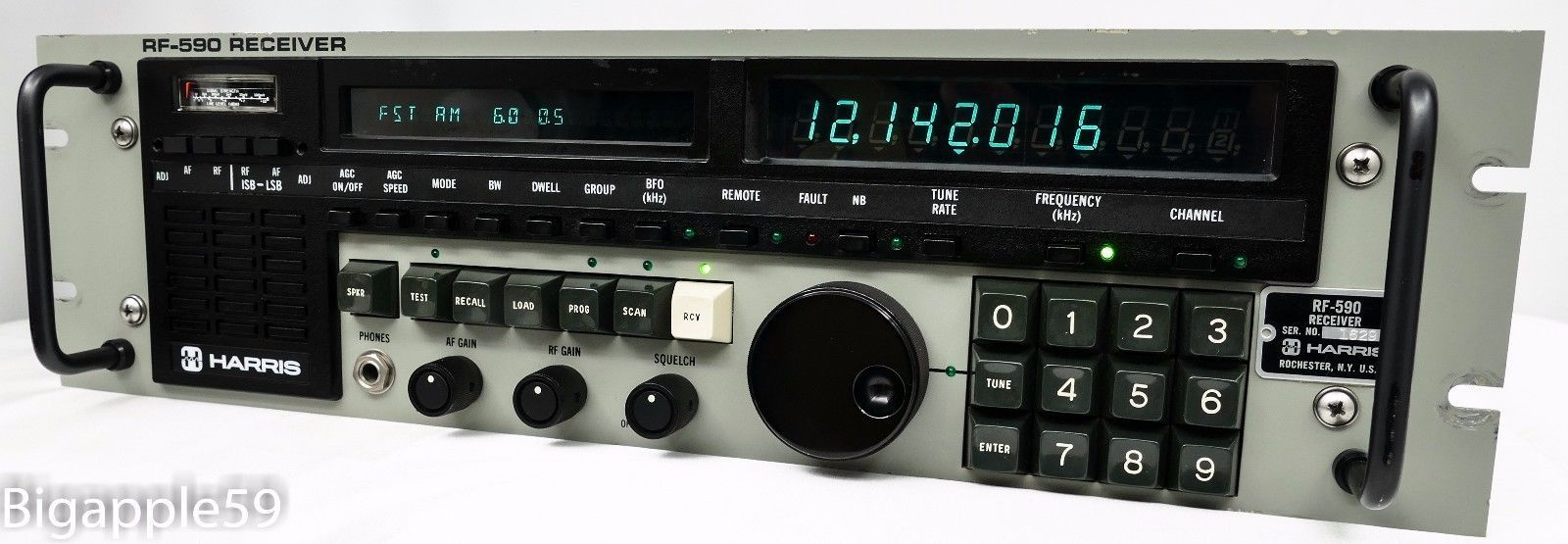 Harris RF-590 Mil Spec Shortwave AM SSB Amateur Radio