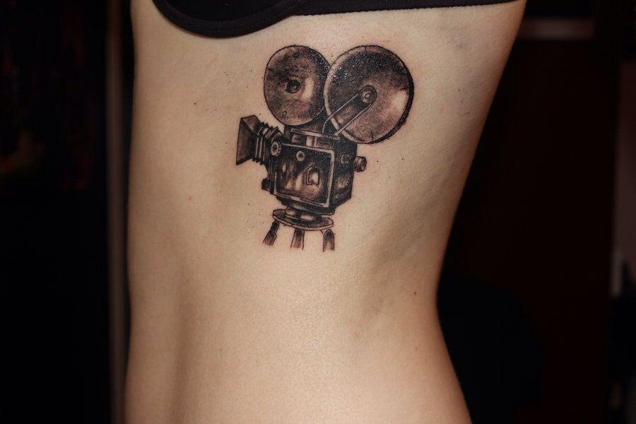 Cinecamera tattoo