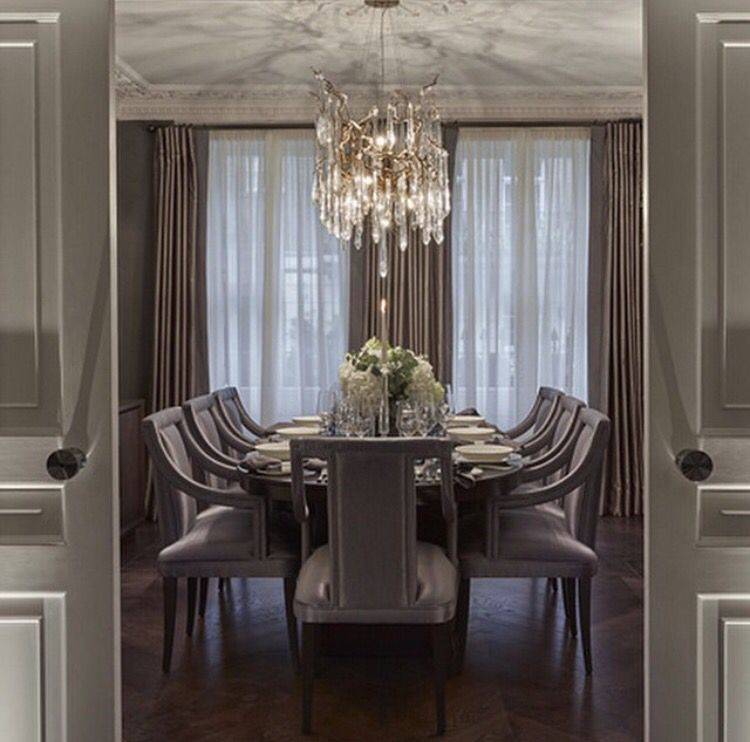 The Dining Room At Our Belgravia Townhouse By Laurahammett
