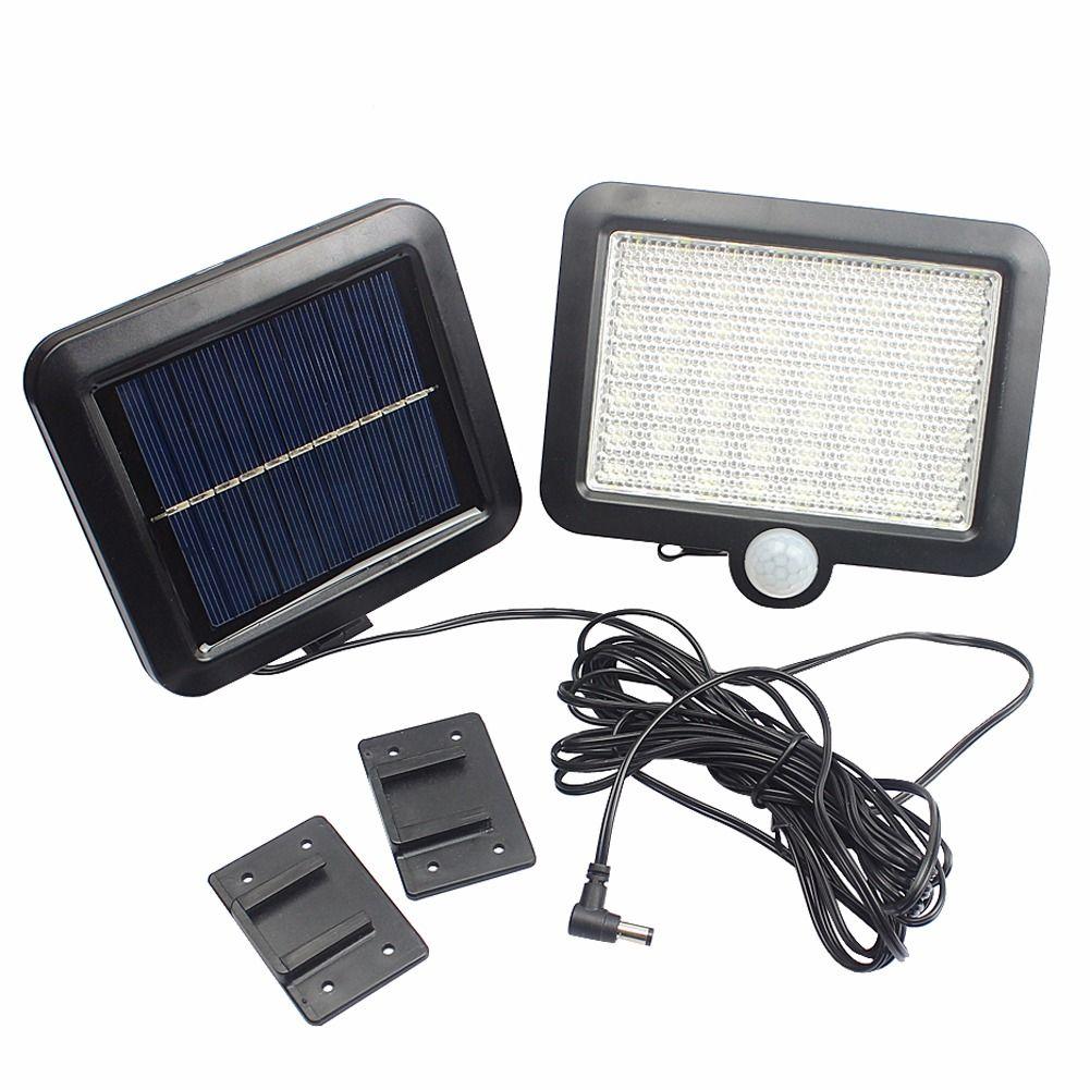 led waterproof solar light pir motion sensor wall lamp outdoor