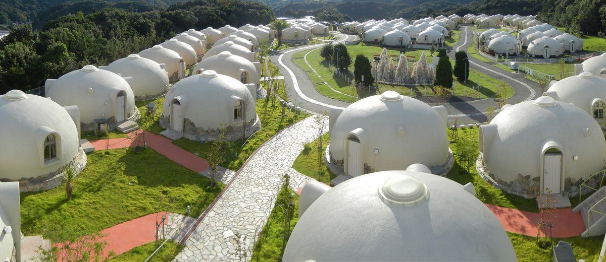 Tore Tore Village Hotel Shirahama Wakayama Ken Bangunan Kyushu Desain