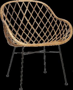 Natural Rattan Armchair – Hübsch
