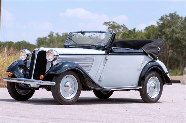 1936 BMW 319 to be auctioned at Motostagia's 2014 Grand ...