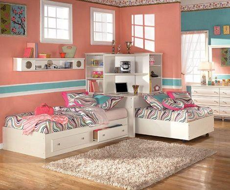 fotos de camas gemelas infantiles, la solución a problemas de
