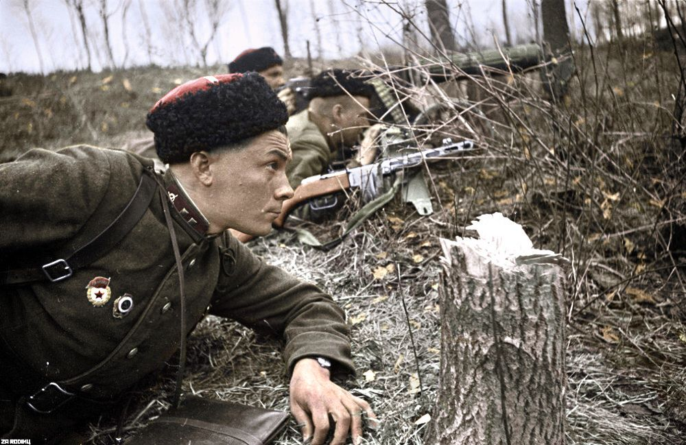 Pin by Dragon Report on Red Army WW 2 and after in Color