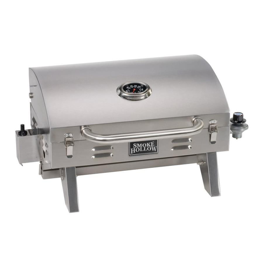 Smoke Hollow Stainless Steel 1 Burner Liquid Propane Gas Grill Lowes Com Best Gas Grills Propane Gas Grill Gas Grill