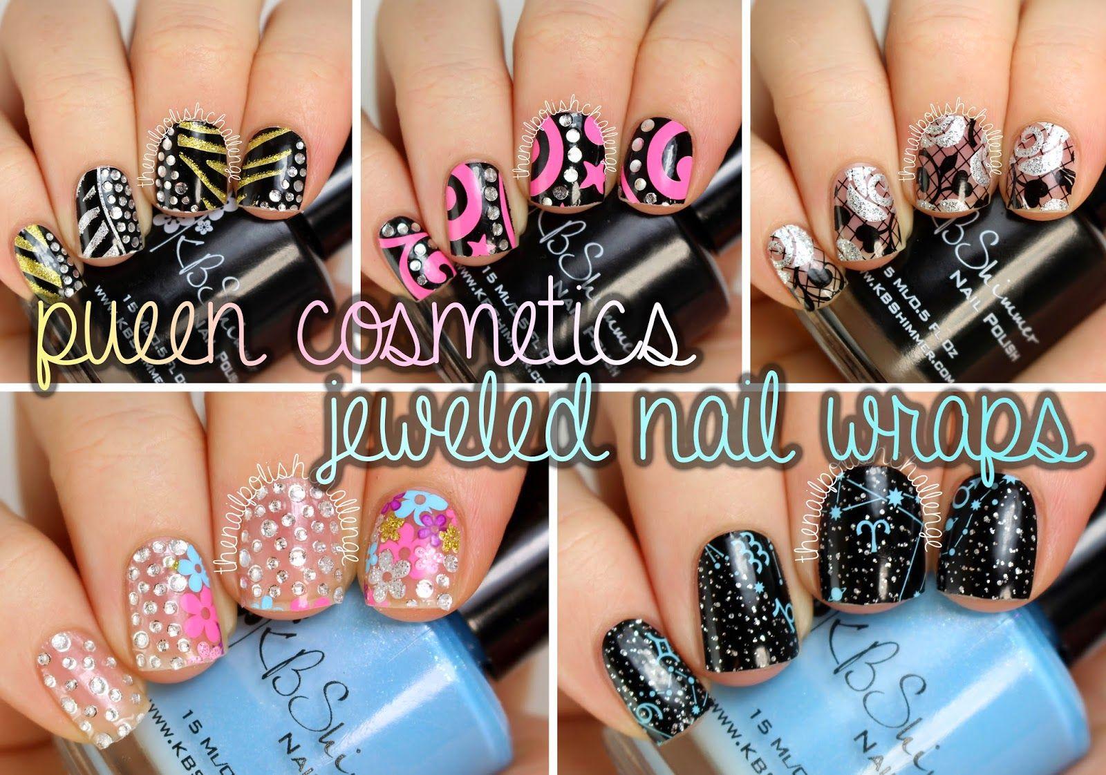 the nail polish challenge: PUEEN Nail Art Wraps: Review