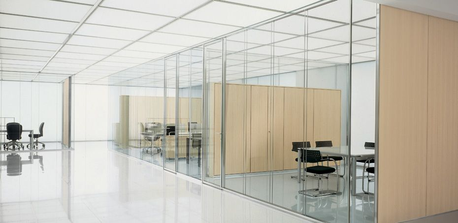 Citterio Glass Partition Wall System Glass Partition Wall