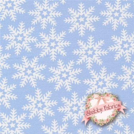 Let It Snow Blue Snowflakes by Karen Cruden for Windham Fabrics http://www.shabbyfabrics.com/Let-It-Snow-36260-1-Blue-Snowflakes-By-Karen-Cruden-For-Windham-Fabrics-P19907.aspx