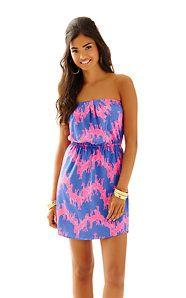 Windsor Strapless Pull-On Dress