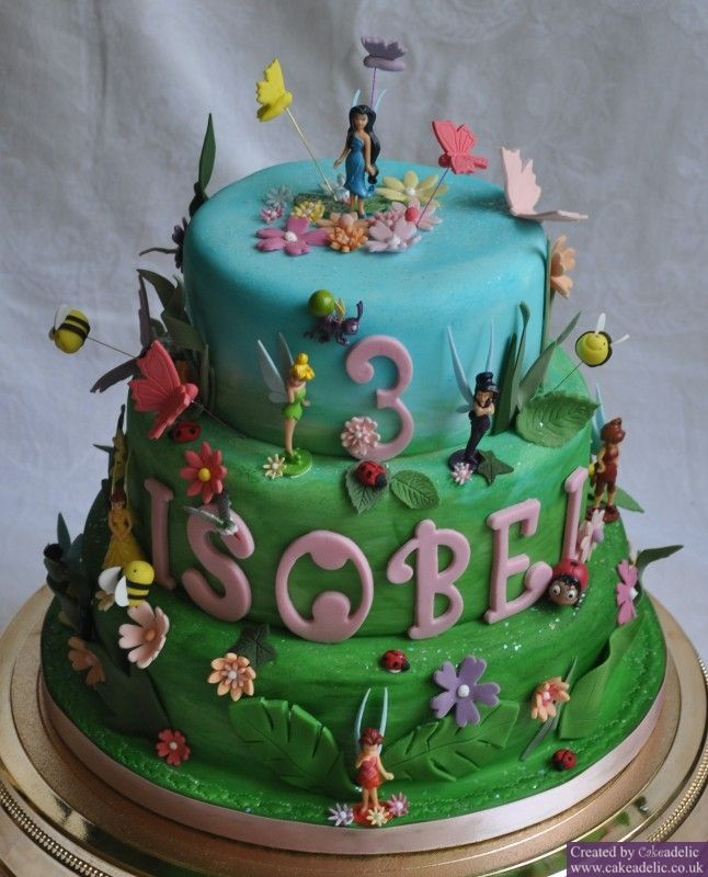 fairy garden birthday cake Google Search tess cake