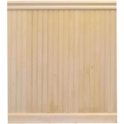House Of Fara 8 Lin Ft Basswood Tongue And Groove Wainscot