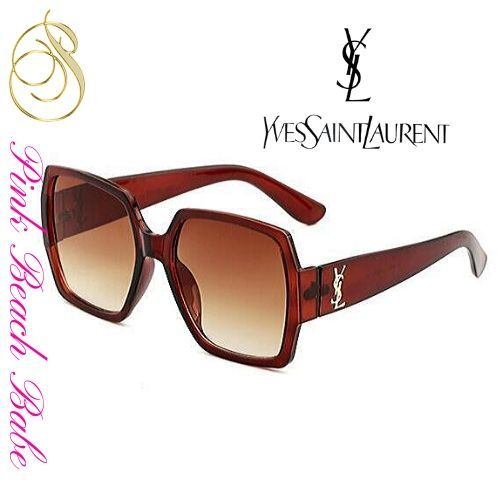 Yves Saint Laurent Sunglasses Brown ® Pink Beach Babe