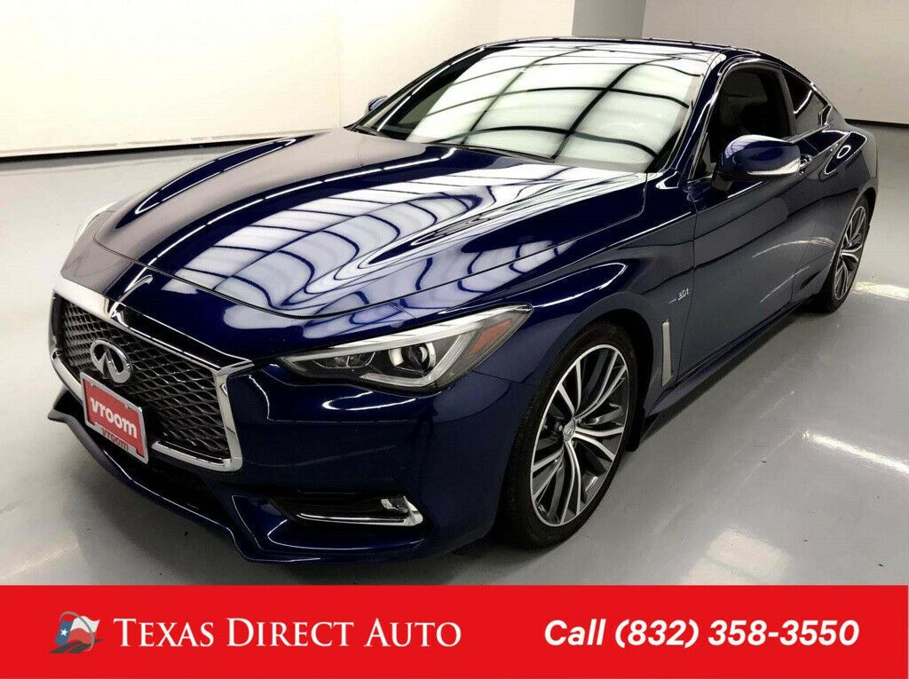Used 2018 Infiniti Q60 3.0t LUXE Texas Direct Auto 2018 3