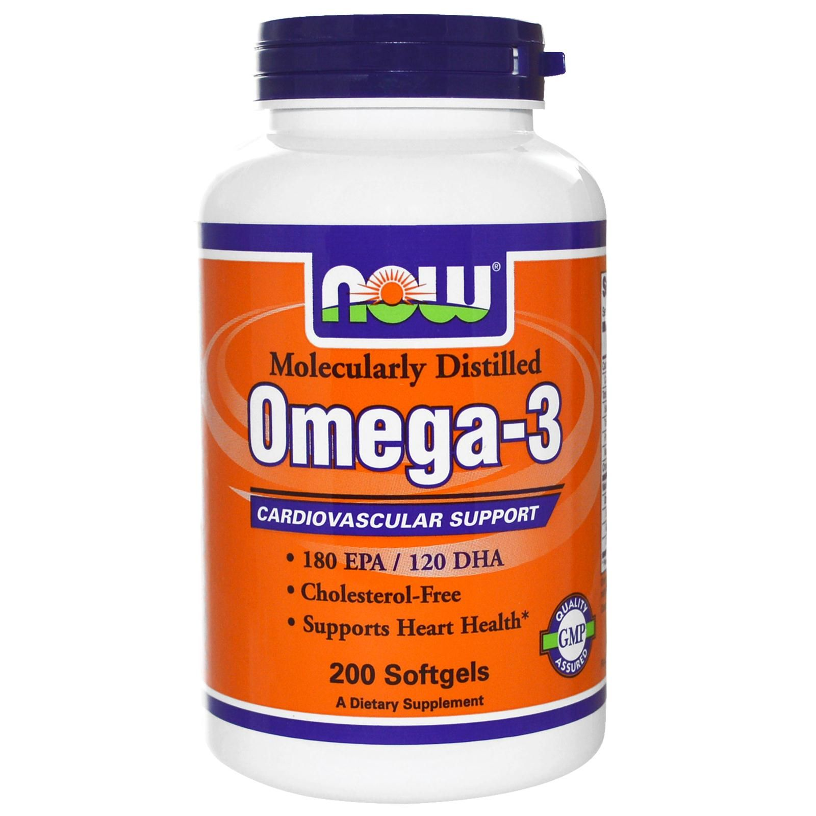 Now Foods Omega 3 180 Epa 120 Dha 200 Softgels Immune Boosters Healthy Care 369 Caps Cardiovascular Support