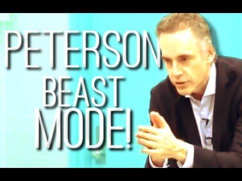 17 7 times jordan peterson went next level beast mode youtube
