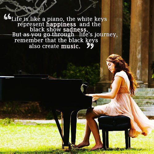 Awesome quote. and in the end there is more white.