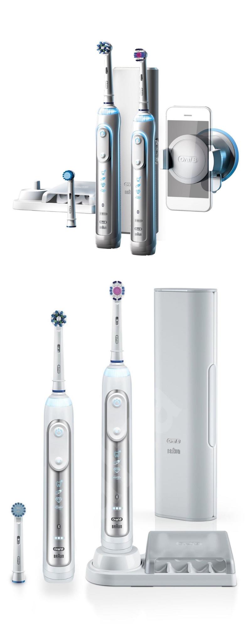 Oral B Genius Pro 8900 Crossaction Electric Rechargeable Toothbrush Rechargeable Toothbrush Oral B Brushing Teeth