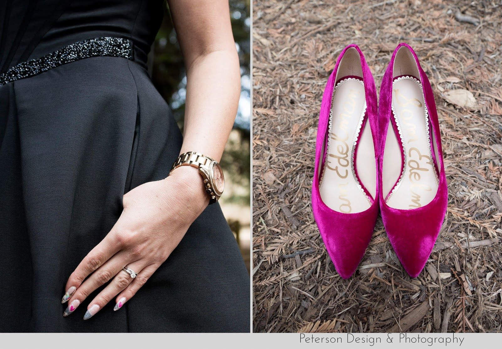 Wedding dress with black shoes  wedding dress with pockets and velvet wedding shoes at this colorful