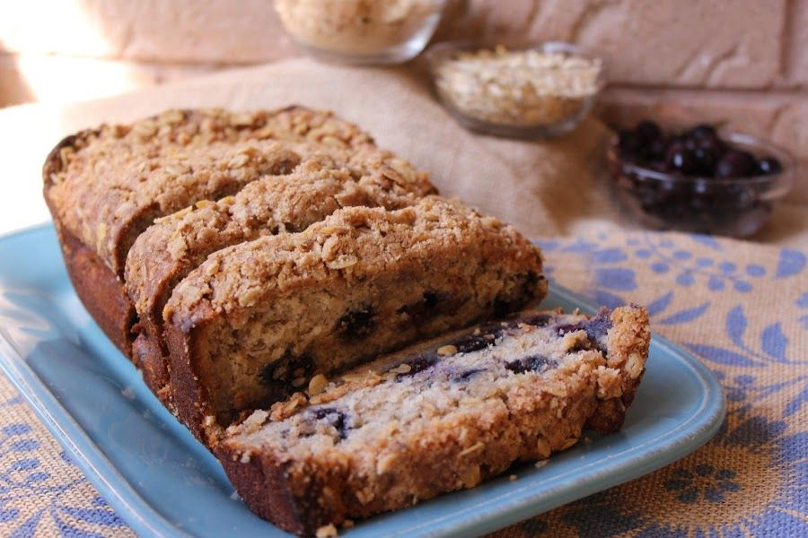 Blueberrybanana Streusel Bread Recipe Just A Pinch Recipes This Streusel Bread Recipe  Just A Pinch