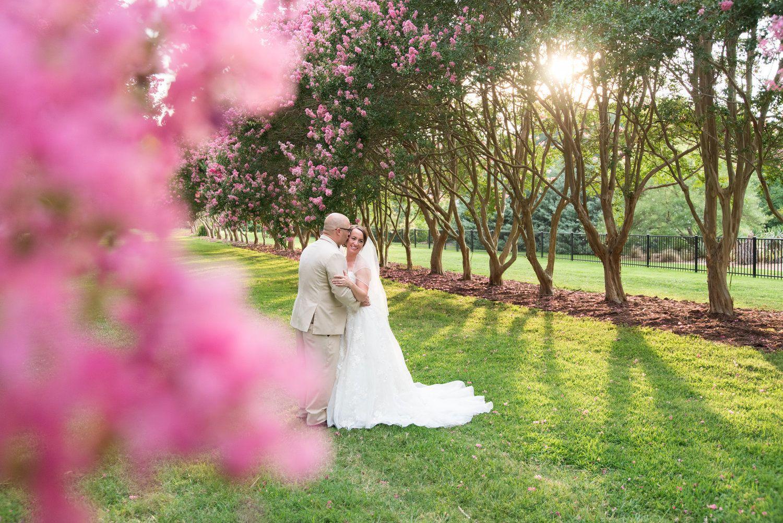 A Colorful Virginia Beach Butterfly Garden Wedding | Virginia beach ...