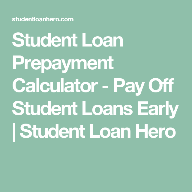 pay loan off early calculator