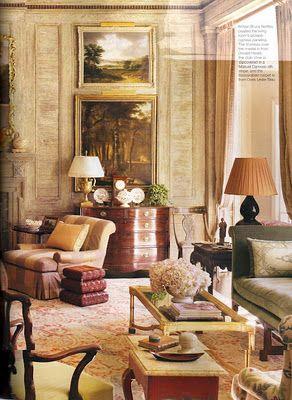 Mississippi house, via Architectural Digest, Richard Keith Langham