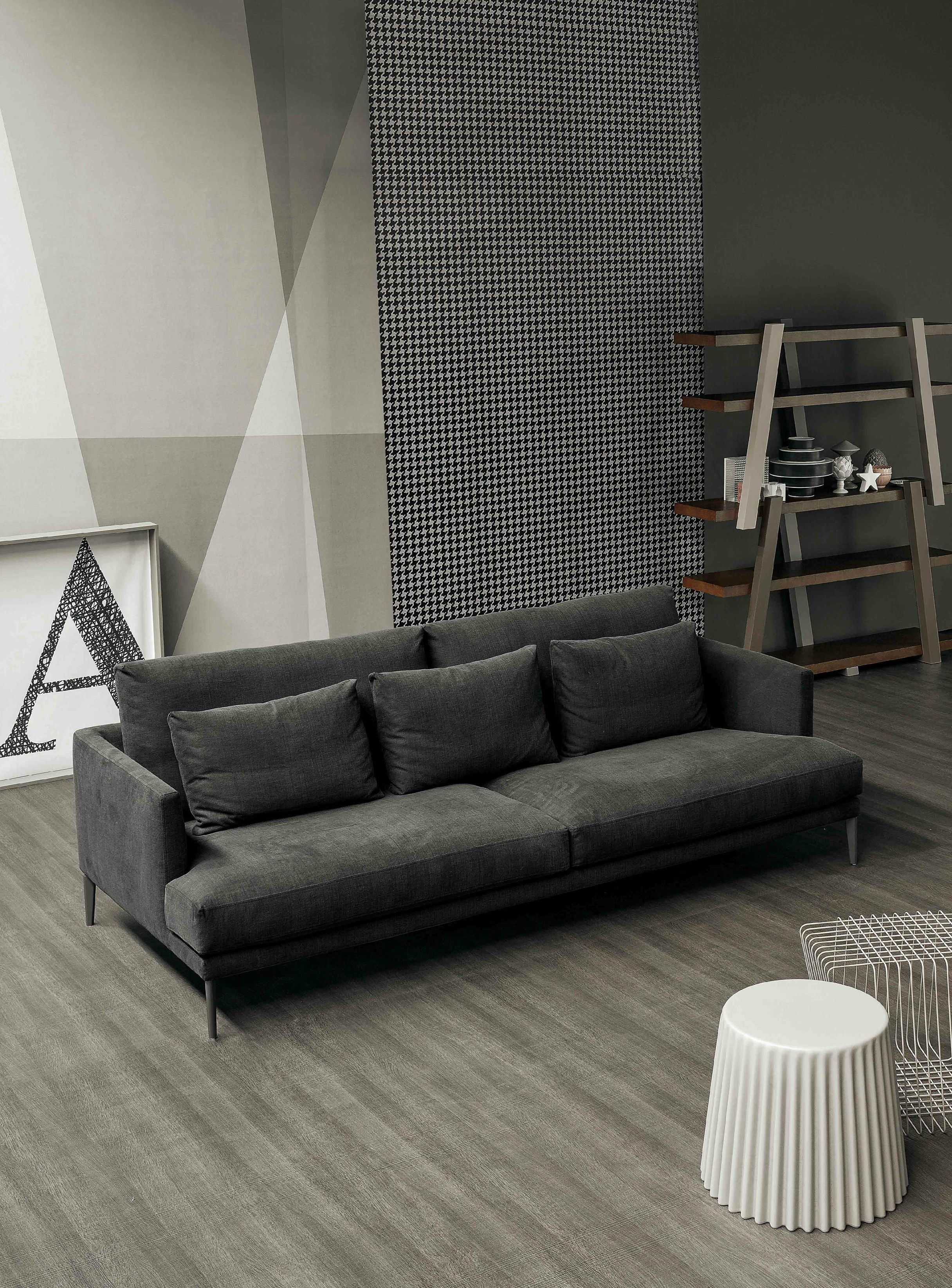Sectional upholstered sofa paraiso collection by bonaldo design sergio bicego