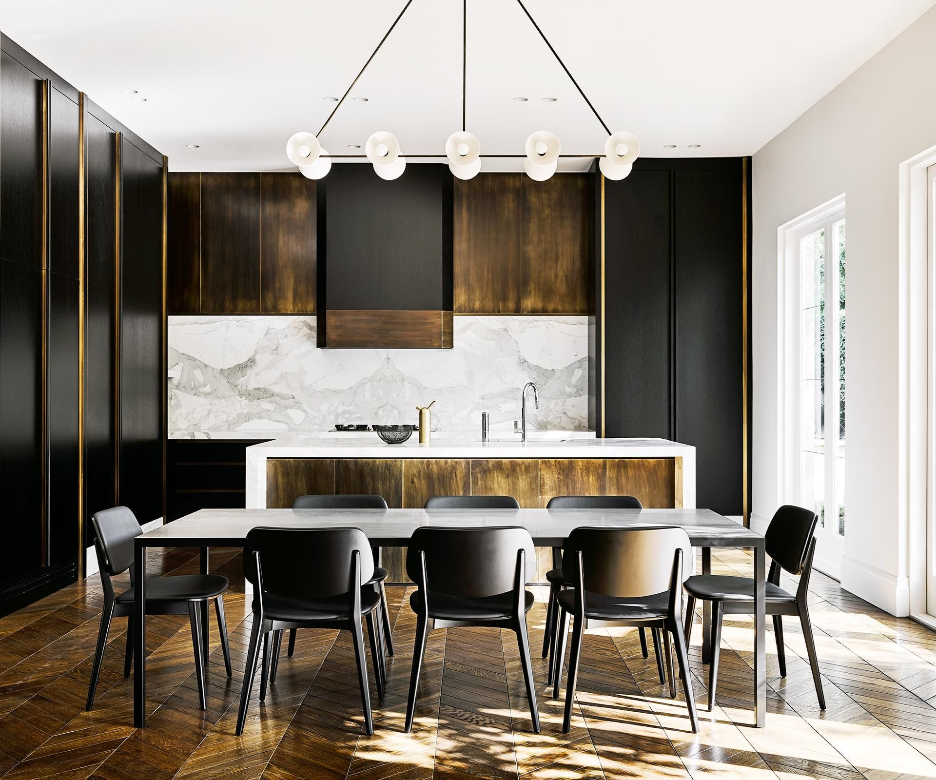 Removing the frills from this Melbourne duplex and adding some graphic contemporary features was the master stroke in its reinvention.