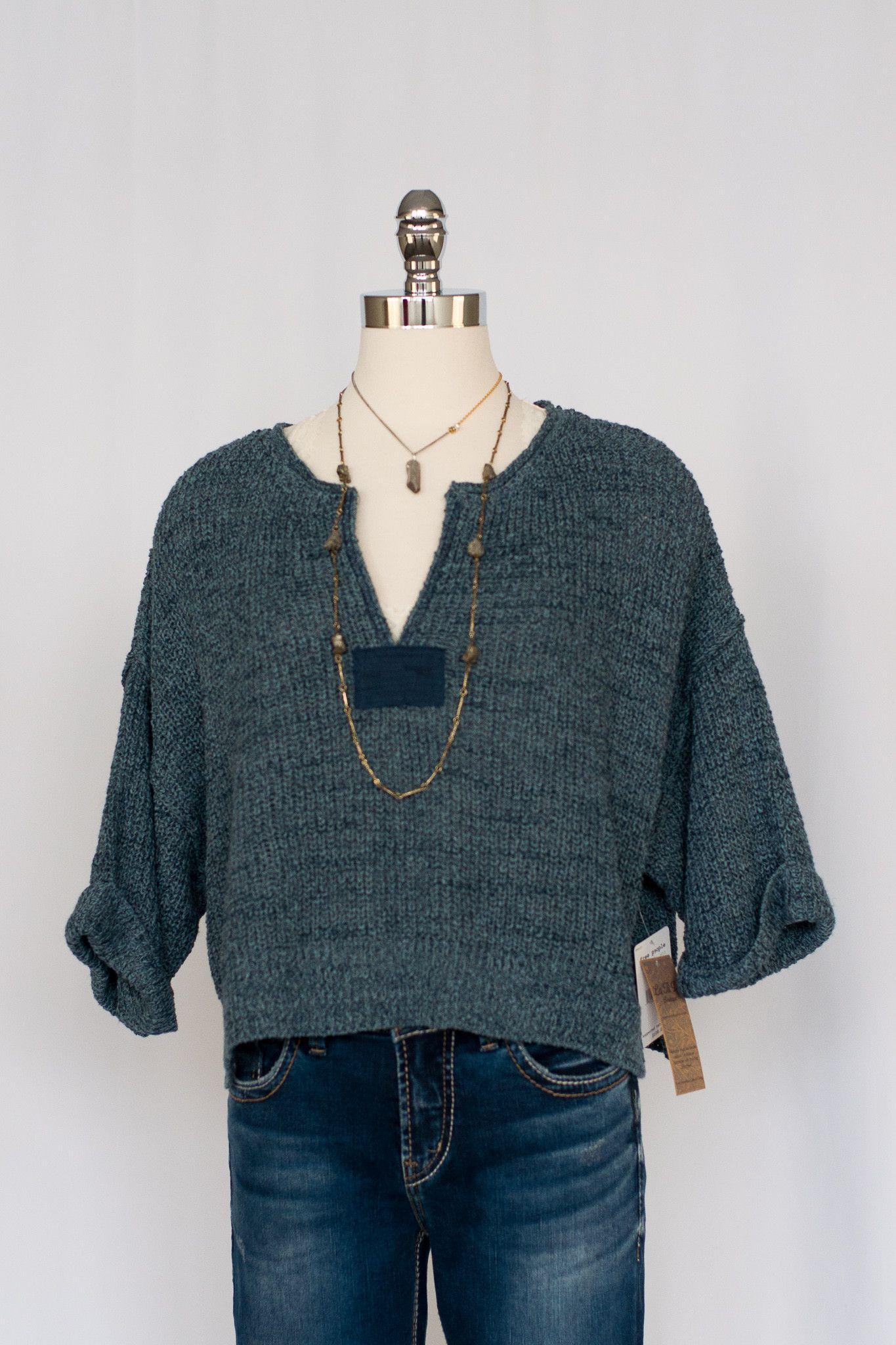 Denim Blue Daybreak Sweater