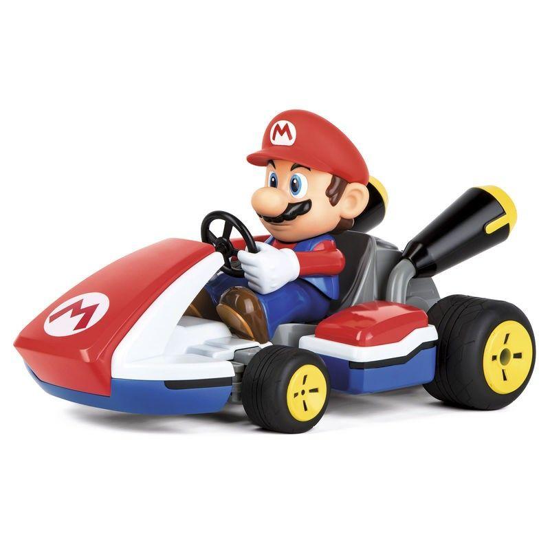 Coche Radio Control Mario Kart Con Sonido Mario Kart Fiesta De Mario Bros Juegos De Mario