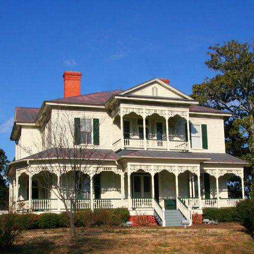 The Edgar Allan Poe House In Fayetteville North Carolina Built In 1896 It Is Named Af North Carolina Homes National Register Of Historic Places America City