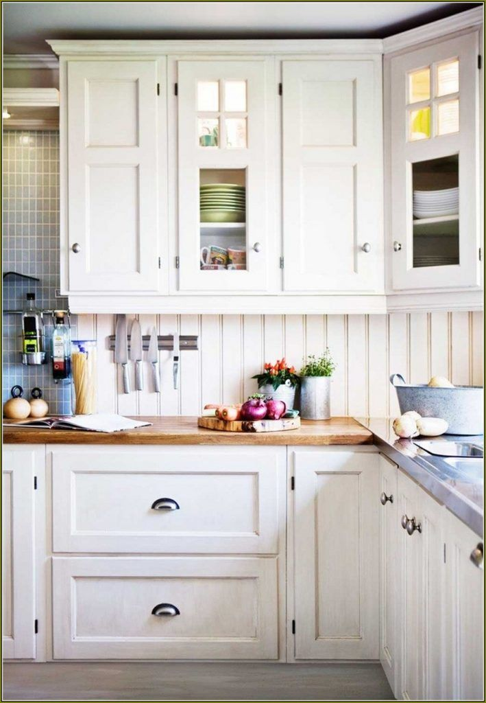 White Porcelain Kitchen Cabinet Knobs